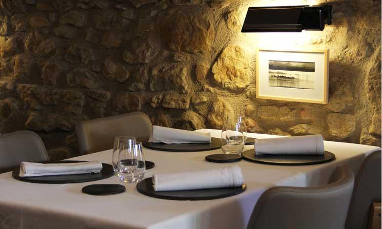 Profesionalhoreca, restaurante La Plaça, Nacional Sedera, mantelería