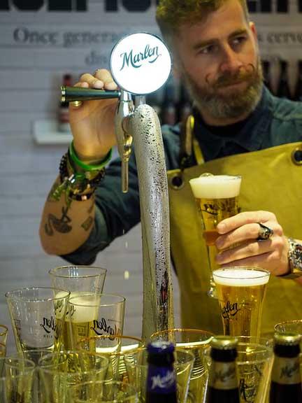 Profesionalhoreca, cerveza Marlen, cañero
