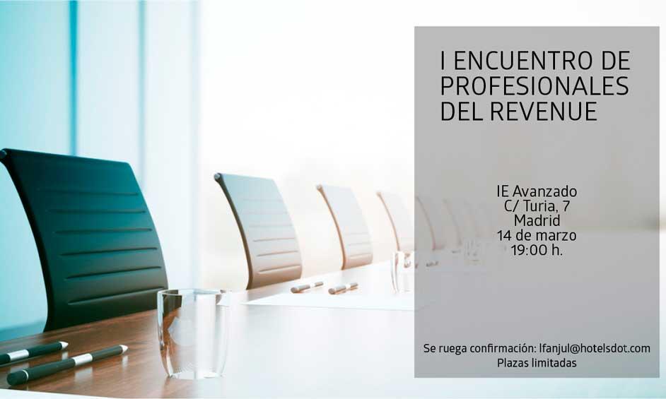 Profesionalhoreca, encuentro profesionales del revenue