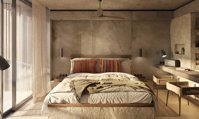 Profesionalhoreca. habitación, hotel Casa Cook Ibiza