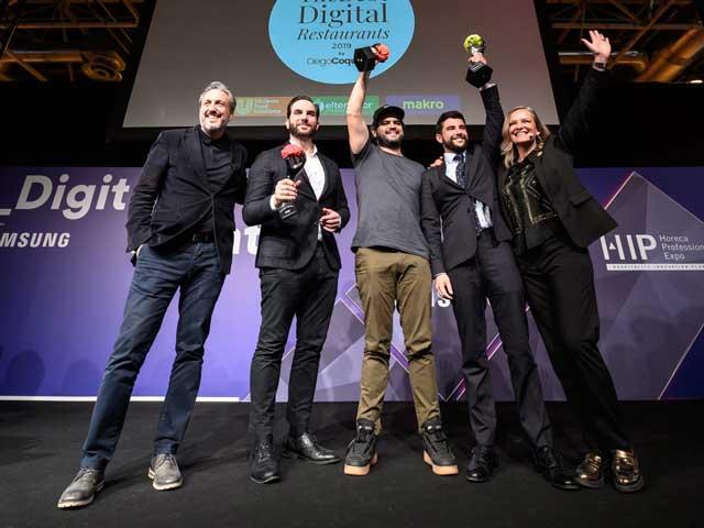 Profesionalhoreca, he Best Digital Restaurant2019, HIp2019