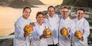 Los nuevos tres soles Repsol: Maca de Castro, Paco Morales, hermanos Torres, Alberto Ferruz y Paolo Casagrande