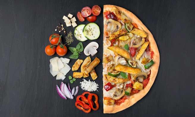 Profesionalhoreca. pizza vegana, Heura