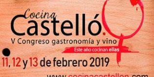 """Vuelve a Castellón el Congreso Gastronomía y Vino: """"Este año cocinan ellas"""""""