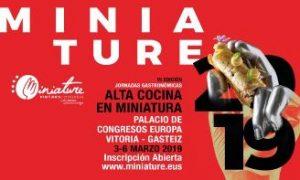 Más de  80 cocineros participarán en el VI Miniature Pintxos Congress de Vitoria-Gasteiz