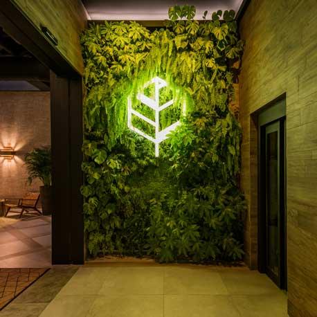 Profesionalhoreca, Breathe Marbella, jardín vertical