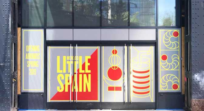 Profesionalhoreca, Mercado Little Spain, fachada