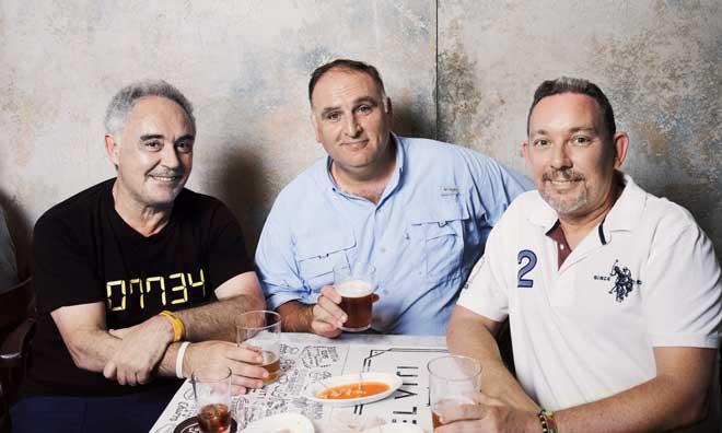 Profesionalhoreca. José Andrés, Ferran y Albert Adrià, Mercado Little Spain