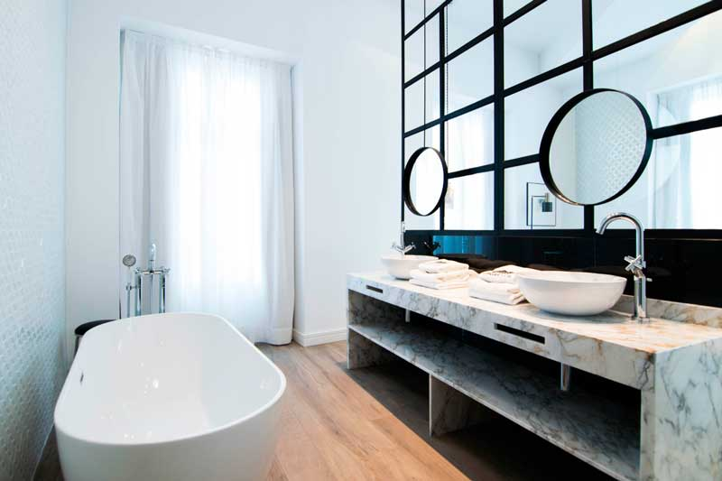 Profesionalhoreca, baño, hotel Marques House