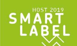 Nueva edición de los premios Smart Label en Host 2019, que reconocen la innovación hostelera