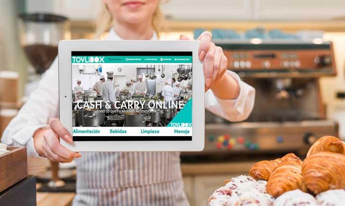 Profesionalhoreca, Tovlibox, cash and carry online