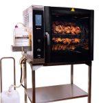 Alto-Shaam: asador de pollos con recogida de grasa y limpieza automática