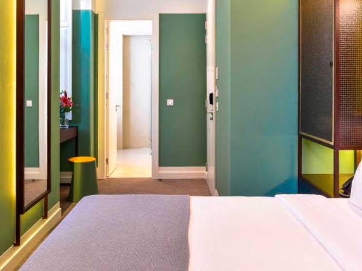 Profesionalhoreca, taburete Handy, Sellex, hotel Augusta