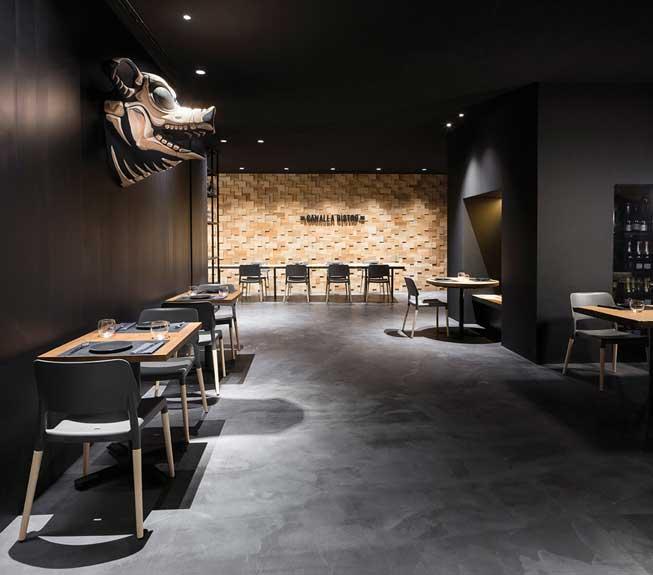 ProfesionalHoreca, mesas esTABLEes en el restaurante Canalla Bistro
