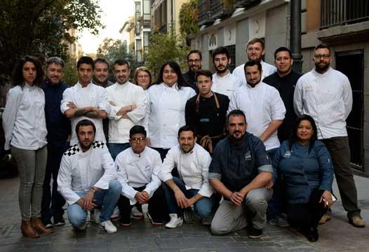 Profesionalhoreca, participantes del Certamen Gastronómico de la Comunidad de Madrid 2019, Acyre Madrid