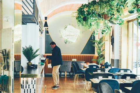 Profesionalhoreca, restaurante Occhiali,
