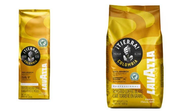 Profesionalhoreca, café ¡Tierra! Colombia, Lavazza