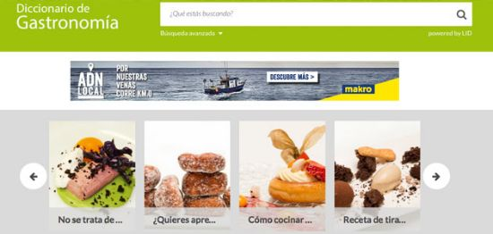 profesionalhoreca Diccionario de Gastronomia