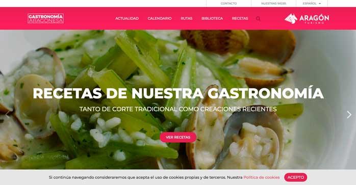 Profesionalhoreca, web de gastronomía aragonesa