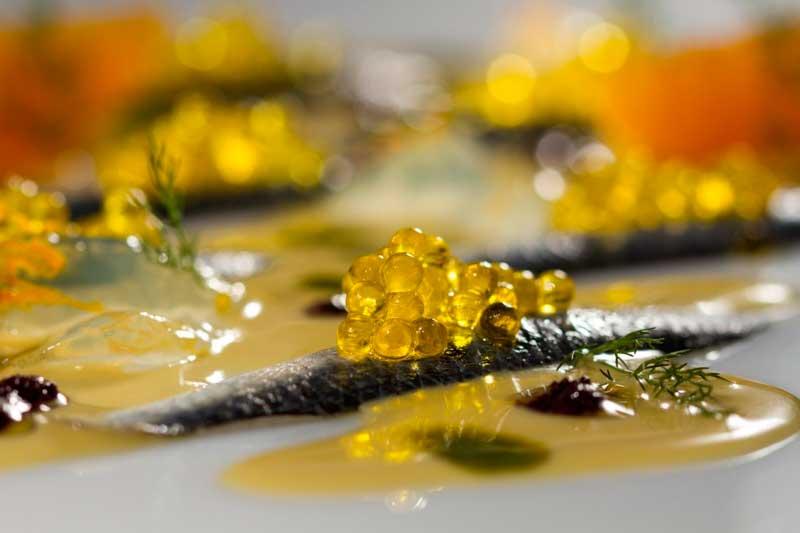 Profesionalhoreca, receta con perlas Caviaroli