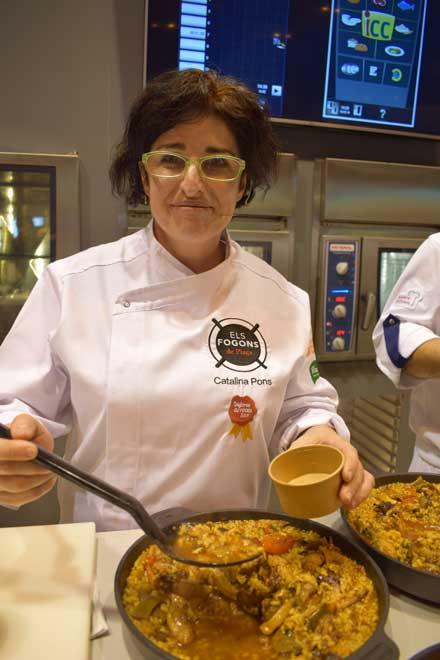 Profesionalhoreca, arroz de carbonero, Catalina Pons, mejor arroz 2018
