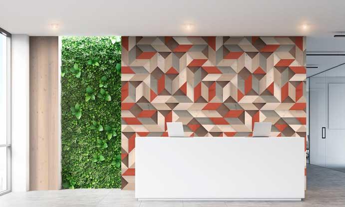 Profesionalhoreca, revestimientos 3D Premium, Grosfillex, paneles decorativo