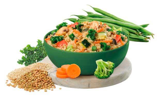 Profesionalhoreca, Quinoa con kale y lentejas, Maheso