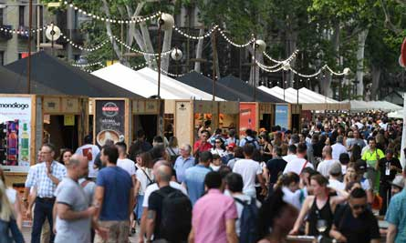 Profesionalhoreca, Tast a la Rambla, festival gastronómico