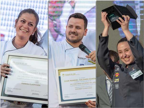 Profesionalhoreca, segundos semifinalistas, Cocinaro del Año, Camarero del Año