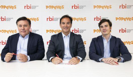 profesionalhoreca, directivos de Restaurant Brands Iberia, Popeyes