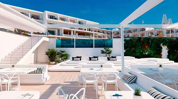 Profesionalhoreca, hotel Elba Sunset Mallorca, terraza