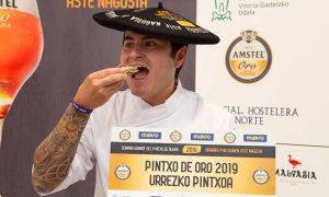 Profesionalhoreca, Carlos Dávalos, Pintxo de Oro de Alava 2019, bar Waska