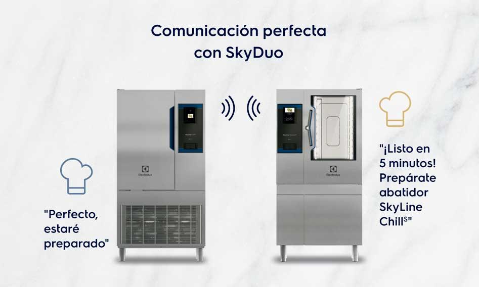 Profesionalhoreca, horno y abatidor Skyline, de Electrolux Professional