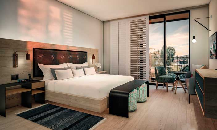 Profesionalhoreca, habitación, hotel San Luis Obispo