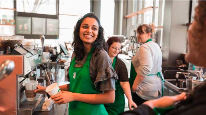 Profesionalhoreca, Starbucks, trabajadores