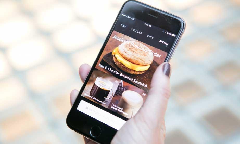Proefsionalhoreca, app, Starbucks