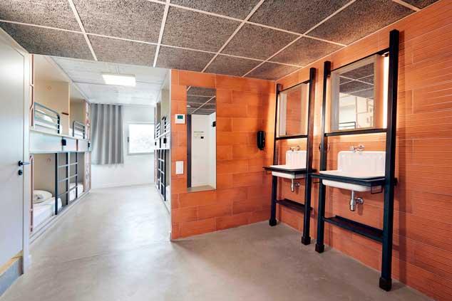 Profesionalhoreca, hostel Unite, habitación