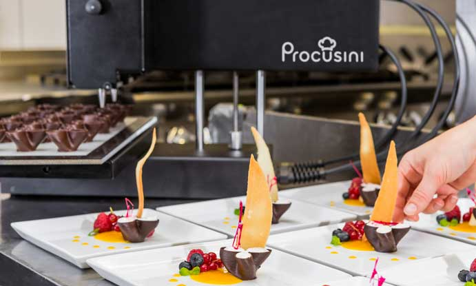Profesionalhoreca, impresora de alimentos 3D Procusini 4.0