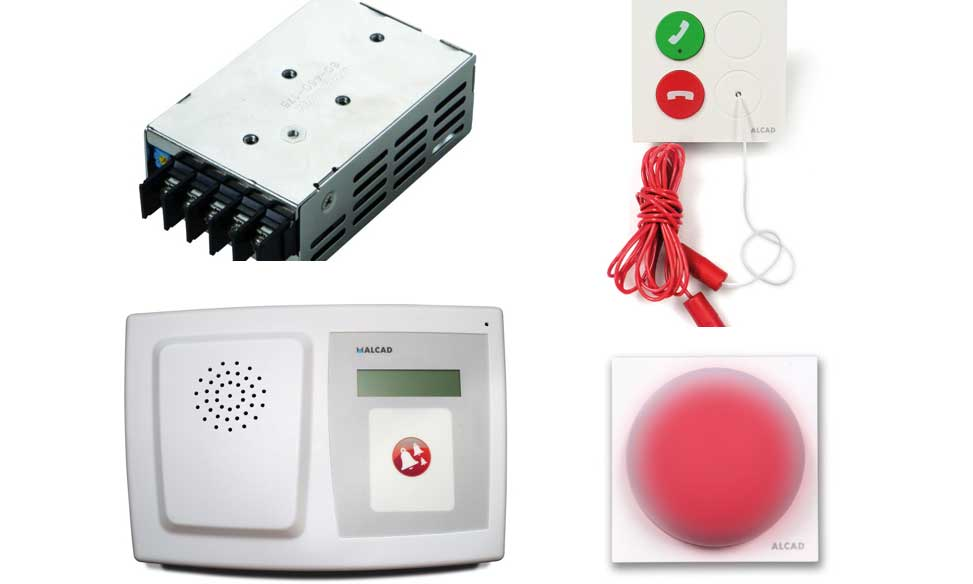 Profesionalhoreca, sistema alertas baños, Attendo, Alcad, elementos, kit