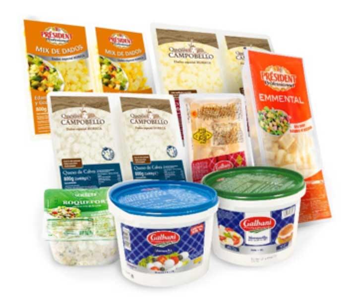 Profesionalhoreca. quesos, Lactalis Foodservice