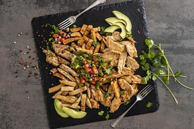 ProfesionalHoreca, plato de carne vegetal Heura, Foods for Tomorrow