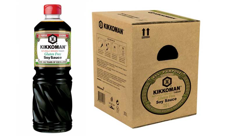 Profesionalhoreca - salsa de soka Kikkoman sin gluten para restauración