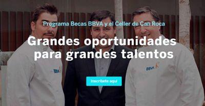 profesionalhoreca, El Celler de Can Roca, hermanos Roca, becas, BBVA