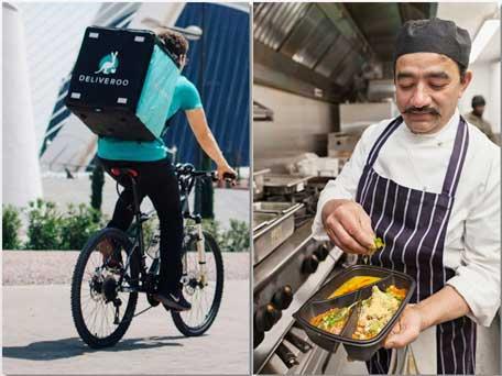 Profesionalhoreca, Deliveroo, rider, chef