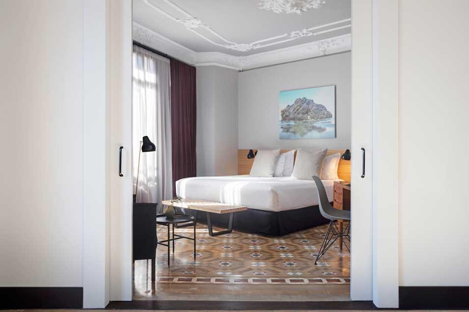 Profesionalhoreca, habitación del hotel Alexandra Barcelona reformada, 2019