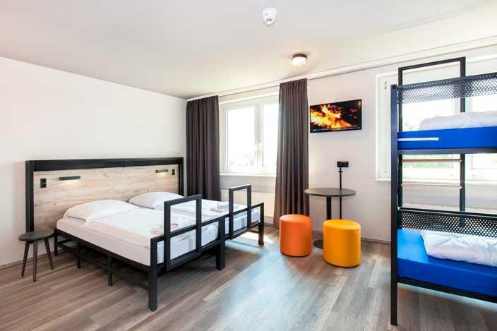 Profesionalhoreca, a&o hostels, Habitación de un hostel de a&o en Berlín