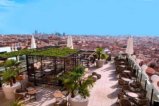 Profesionalhoreca, hotel Riu Plaza España, Sky Bar