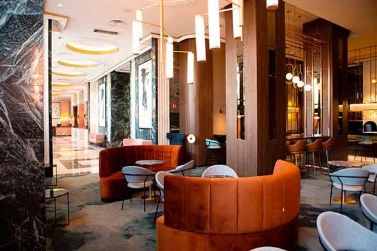 Profesionalhoreca, hotel Riu Plaza España, bar del lobby