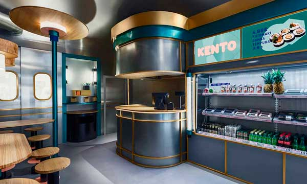 Profesionalhoreca, restaurante Kento, comida japonesa, take away