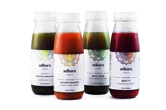Profesionalhoreca, zumos de Adhara Organic, zumos vegetales, zumos ecológicos